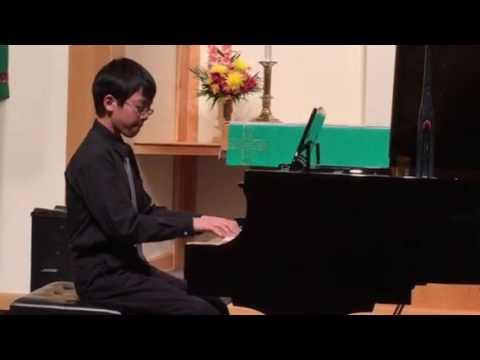 Thomas Lee 2016 Winter Recital