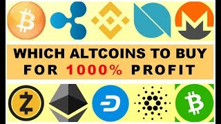 WHICH ALTCOINS TO BUY FOR