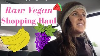 VEGAN RAW FOOD SHOPPING HAUL, 200+ lbs RAW FRUIT and GREENS.