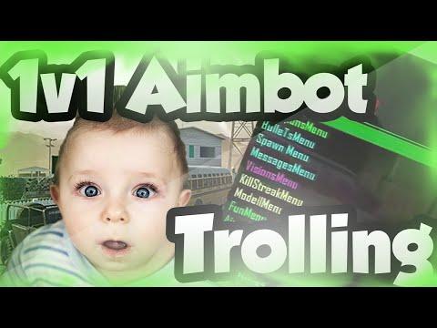1v1 Squeaker Got Reckt! | AIMBOT TROLLING | (Black Ops 2 Mods)