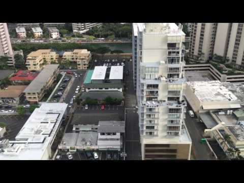 Just a quick view from alamoan hotel in Honolulu Hawaii