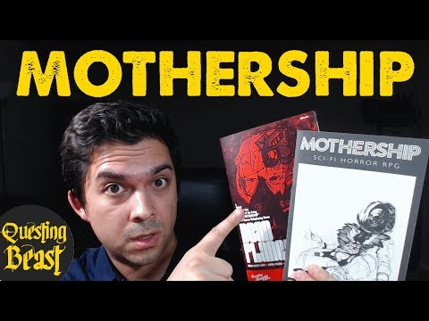 Mothership: Scifi Horror RPG Review