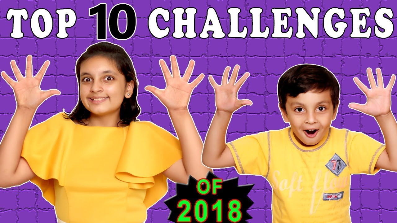 Download TOP 10 CHALLENGES | #Kids #Funny | All Challenges | Aayu and Pihu Show