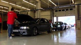 Bmw E39 M5 vs Bmw Z4 3,5 bi-turbo @ istanbulpark