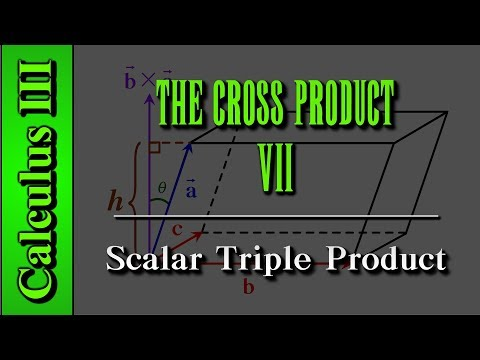 Calculus III: The Cross Product (Level 7 of 9) | Scalar Triple Product