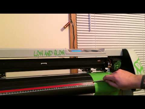 How To Use An Uscutter Sc Vinyl Cutter Directly From