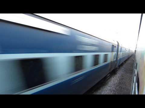 Danapur(Patna) Secunderabad Express blasts past MAS NZM Duronto Express