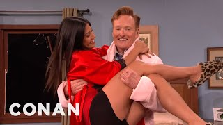 Steven Ho Attacks Conan In The Bedroom  - CONAN on TBS