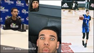 Kyle Kuzma On LaMelo Ball Joining LAKERS w/ Lonzo