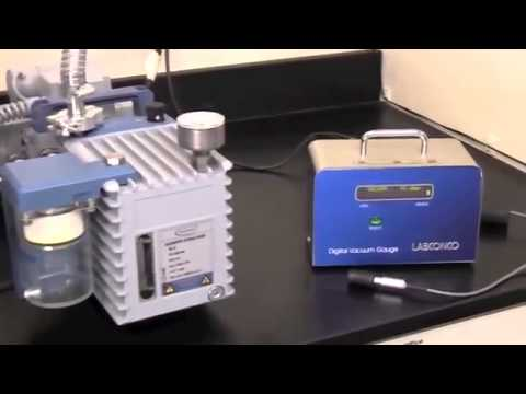 Detect Vacuum Leaks in Labconco Freeze Dry Systems