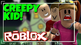 CREEPIEST KID in ROBLOX (Feat. TheHealthycow and OmegaNova)