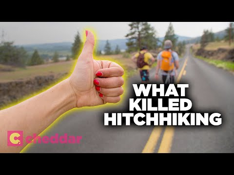 The Surprising Reason We Don't Hitchhike Anymore - Cheddar Explains