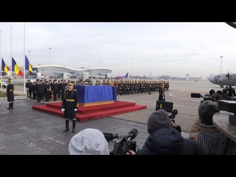 Body of Romania's king Michael returns home for final farewell