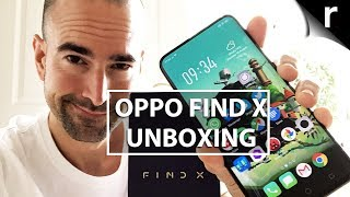 Oppo Find X Unboxing, Tour and F9 comparison