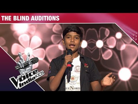 Rishabh Prakash Performs on Madhuban Mein Radhika Nache | The Voice India Kids | Episode 7