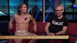 Micke Syd klär av sig i tv – så fick han drömkroppen