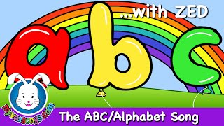 The Alphabet Song with Zed | Nursery Rhymes