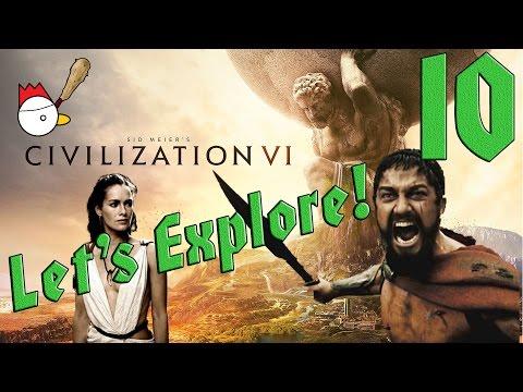CIVILIZATION VI [ITA] Let's Explore 10# - QUESTA È SPARTAAAAA!