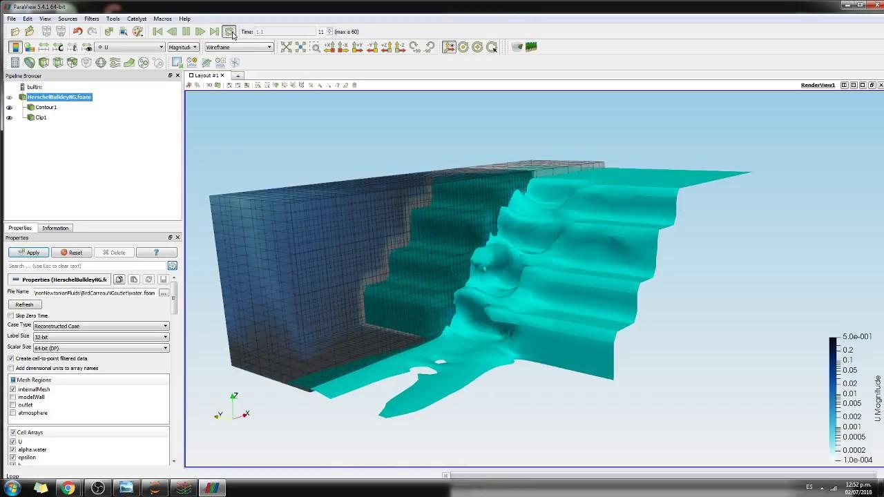 Dynamic Simulation of Hillslope Landslide with openFoam - Tutorial Part 2