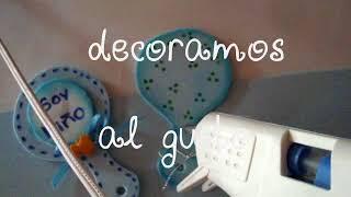 Distintivo para Baby shower  D.I.Y
