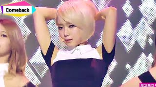 Repeat youtube video [Comeback Stage] AOA - Miniskirt, 에이오에이 - 짧은 치마, Show Music core 20140118