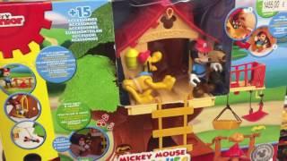 Disney Mickey Mouse Clubhouse Клуб Микки мауса Домик на дереве