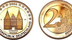 2 euro Germany 2006 coin Schleswig Holstein Money Münzen