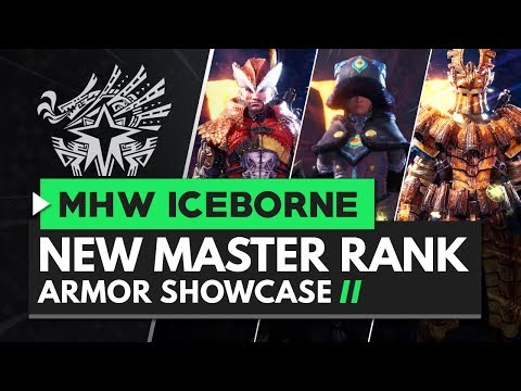 Monster Hunter World Iceborne | New Master Rank Armor Showcase