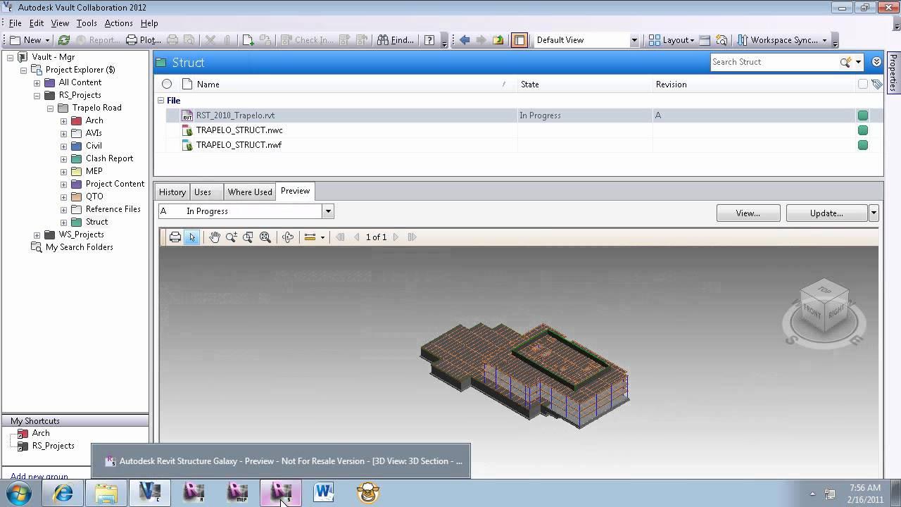 Autodesk Vault and Revit Integration