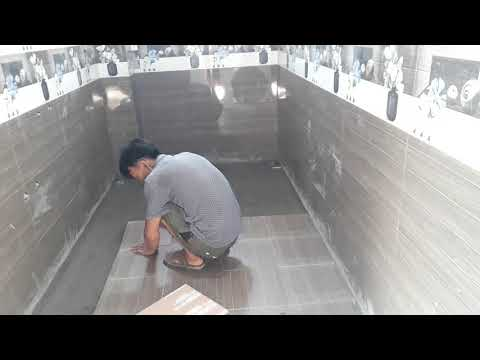 The fastest way to clean bathroom tiles