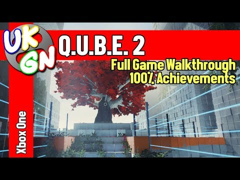 Q.U.B.E. 2 [Xbox One/PS4/PC] Full Game Walkthrough - All Achievements