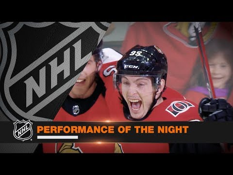 Sens' comeback earns Performance of the Night honors