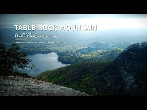 Full-Length Hike: Table Rock Mountain (Pickens, SC)