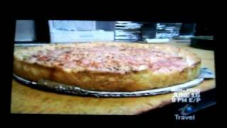 Chicago deep dish pizza pie -It IS the real thing!