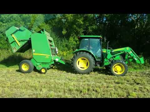 Making Hay John Deere Tractors 2017