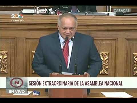 Diosdado Cabello presenta siete leyes en el marco de la revolución judicial, 14 septiembre 2021