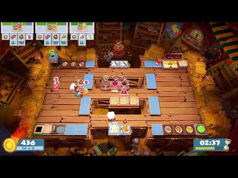 Overcooked 2 - Carnival of Chaos 3-2 (single player) Score: 1808 |