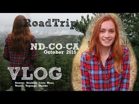VLOG // ROAD TRIP - DENVER & CALIFORNIA/