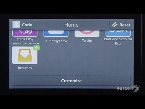 Creating a 1-Touch App on Your Xerox VersaLink MFP or Printer