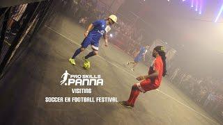 PRO SKILLS PANNA VISITING SOCCEREX FOOTBALL FESTIVAL