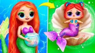 DIY Doll Hacks and Crafts / Ideas for Doll Crafts / Disney Princesses Dolls /