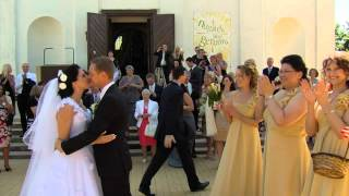 Asta & Andrew's Wedding 2012 06 16 Lithuania (official video by Vanilinis dangus)