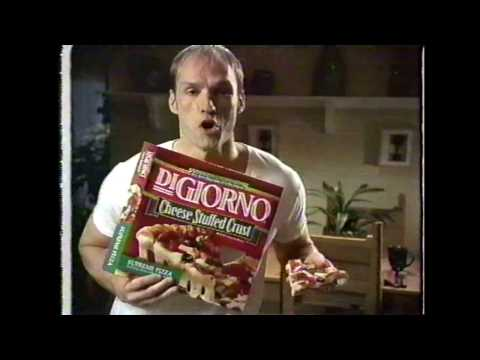 Digiorno Stuffed Crust commercial 2002 featuring Brian Stepanek