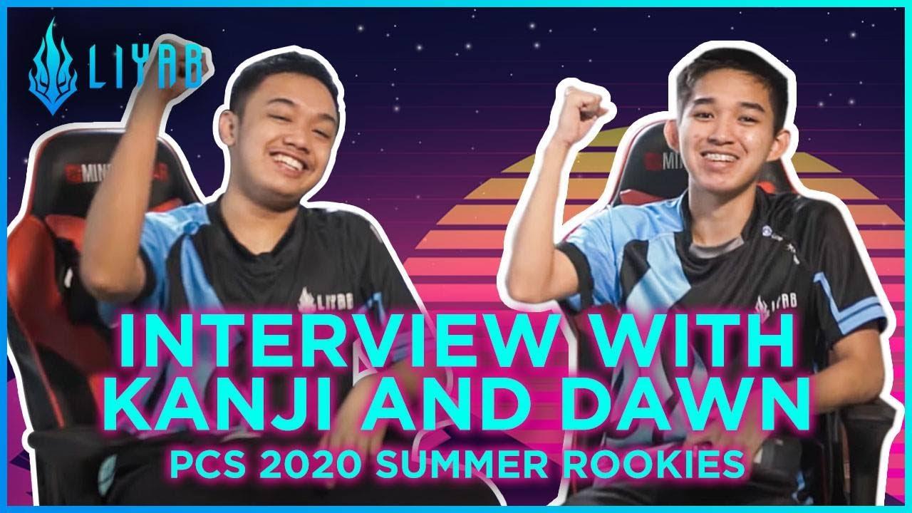 [Interview] LYB Kanji & Dawn | Rookies in PCS 2020 Summer