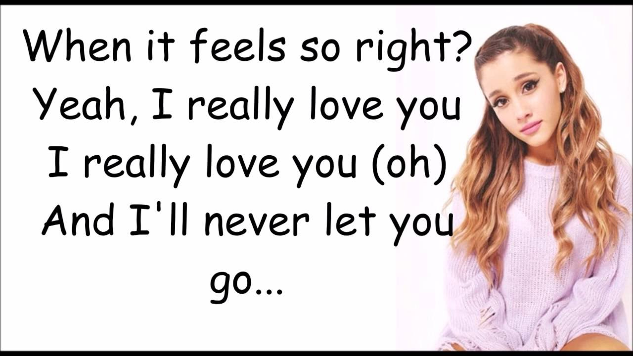 Download Right There -  Ariana Grande Ft. Big Sean (lyrics)