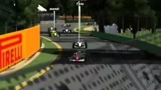 F1Race Campeonato de Invierno 2014 test Australia (parte 1)