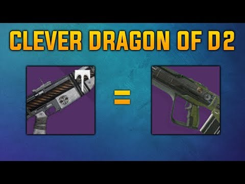 Clever Dragon Of Destiny 2 | The Time-Worn Spire Pulse Rifle |