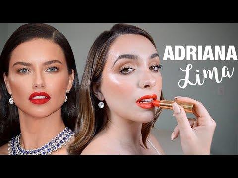 Adriana Lima X Patrick Ta CANNES Inspired Makeup