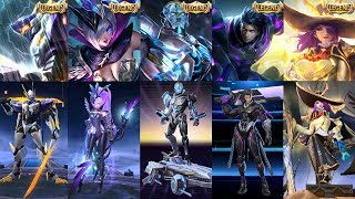 ALL LEGENDARY SKIN REVIEW - Who#39s The Best Among Best Legend Skins In Mobile Legends