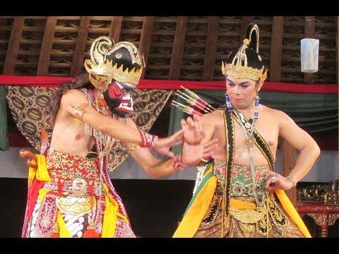 Tari BAMBANGAN CAKIL - Wayang Orang PANCA BUDAYA Yogyakarta - Perang Kembang [HD]